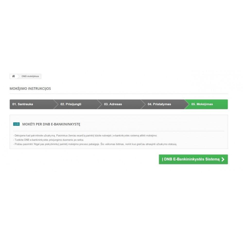 module - Zahlung per Überweisung - Luminor BankLink Lithuania (Lietuva) - 3