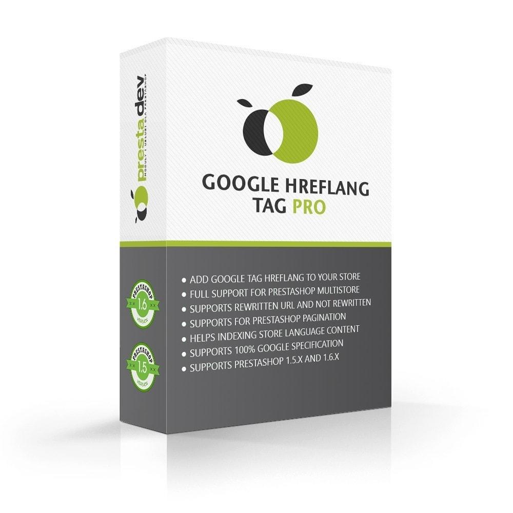 module - SEO (référencement naturel) - Google Hreflang tag Pro - 1