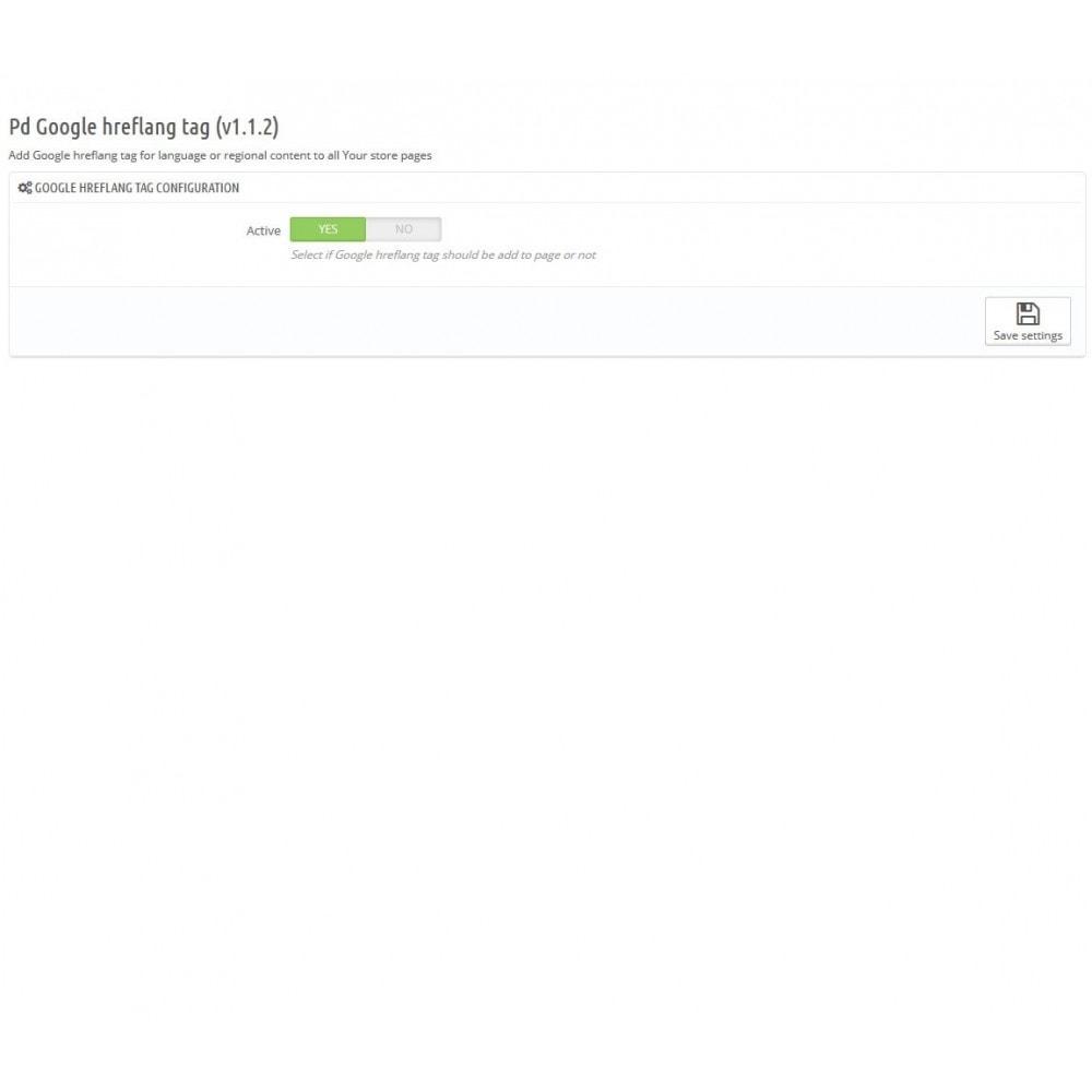 module - SEO (Posicionamiento en buscadores) - Google Hreflang tag Pro - 2