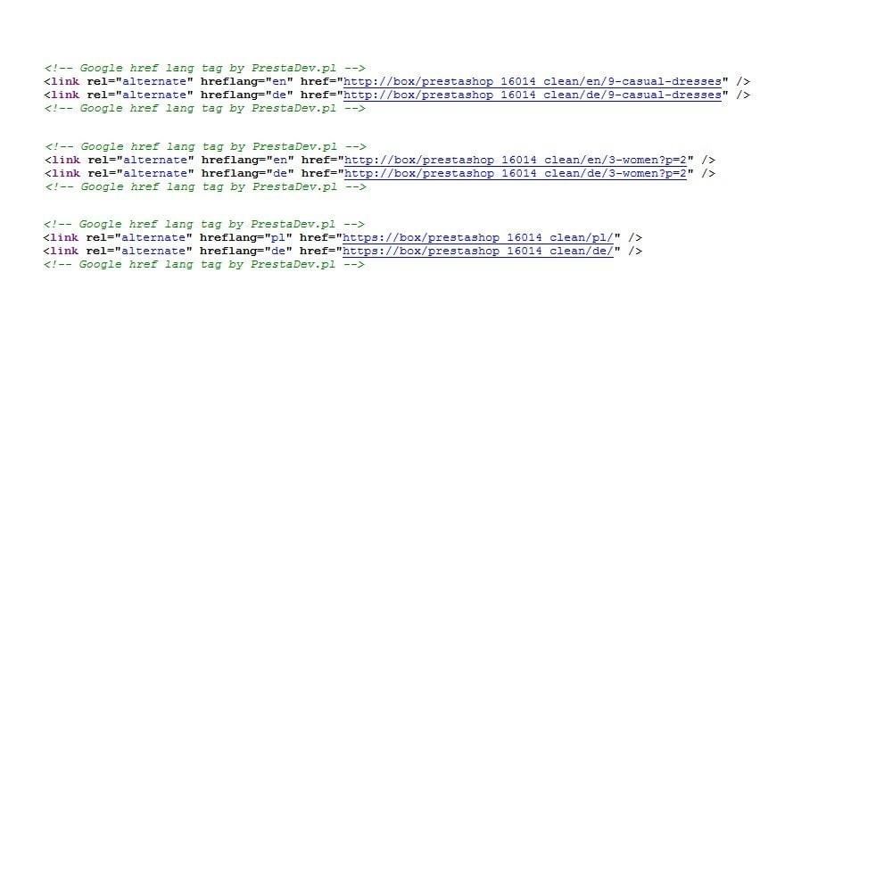 module - SEO (référencement naturel) - Google Hreflang tag Pro - 3
