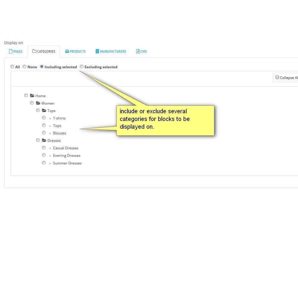 module - Blocos, Guias & Banners - Contentique - Flexible Content Blocks! - 6