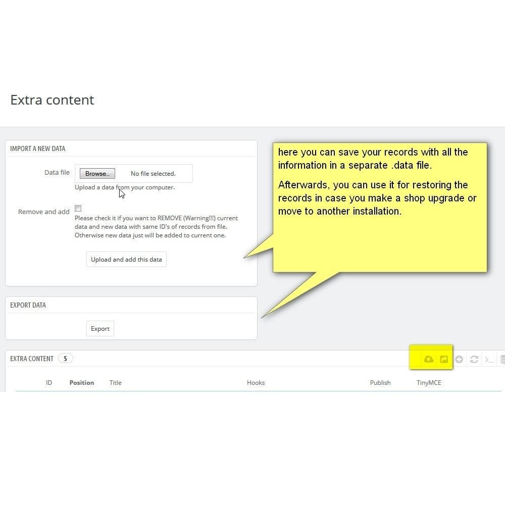 module - Blocos, Guias & Banners - Contentique - Flexible Content Blocks! - 9