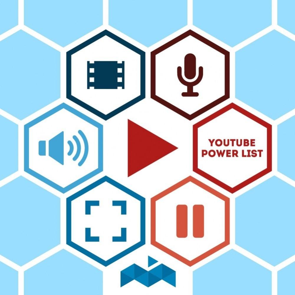 module - Wideo & Muzyka - Power List Videos Youtube - 1