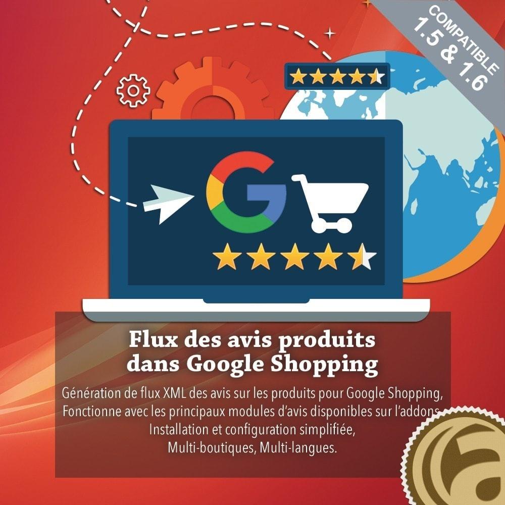 module - Avis clients - Flux des avis produits dans Google Shopping - 1