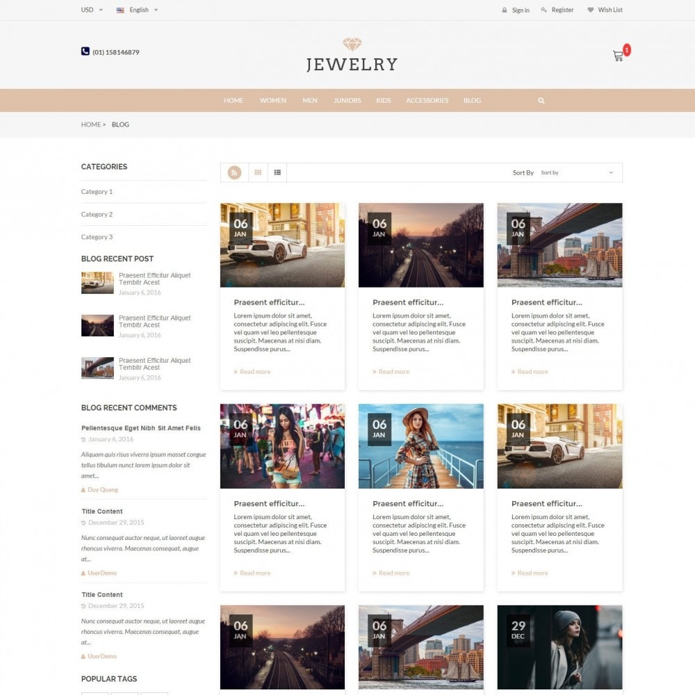 theme - Jewelry & Accessories - Beauty & Jewelry Responsive Store - Amazing - 6