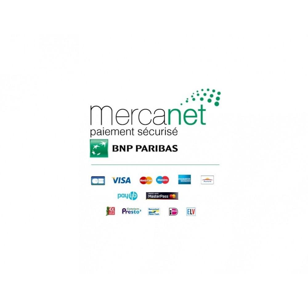 module - Paiement par Carte ou Wallet - BNP Paribas - Mercanet (Officiel) pour Prestashop 1.6 - 1