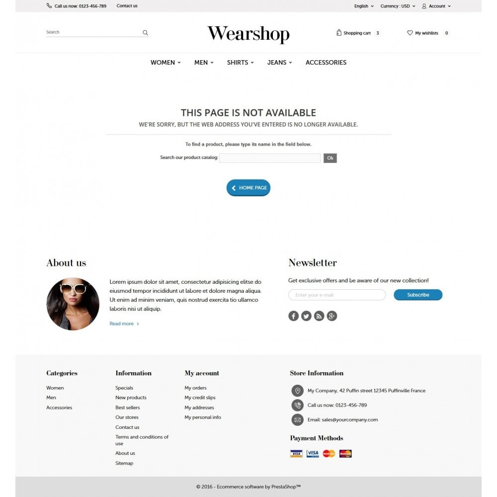 theme - Mode & Chaussures - Wearshop - 9