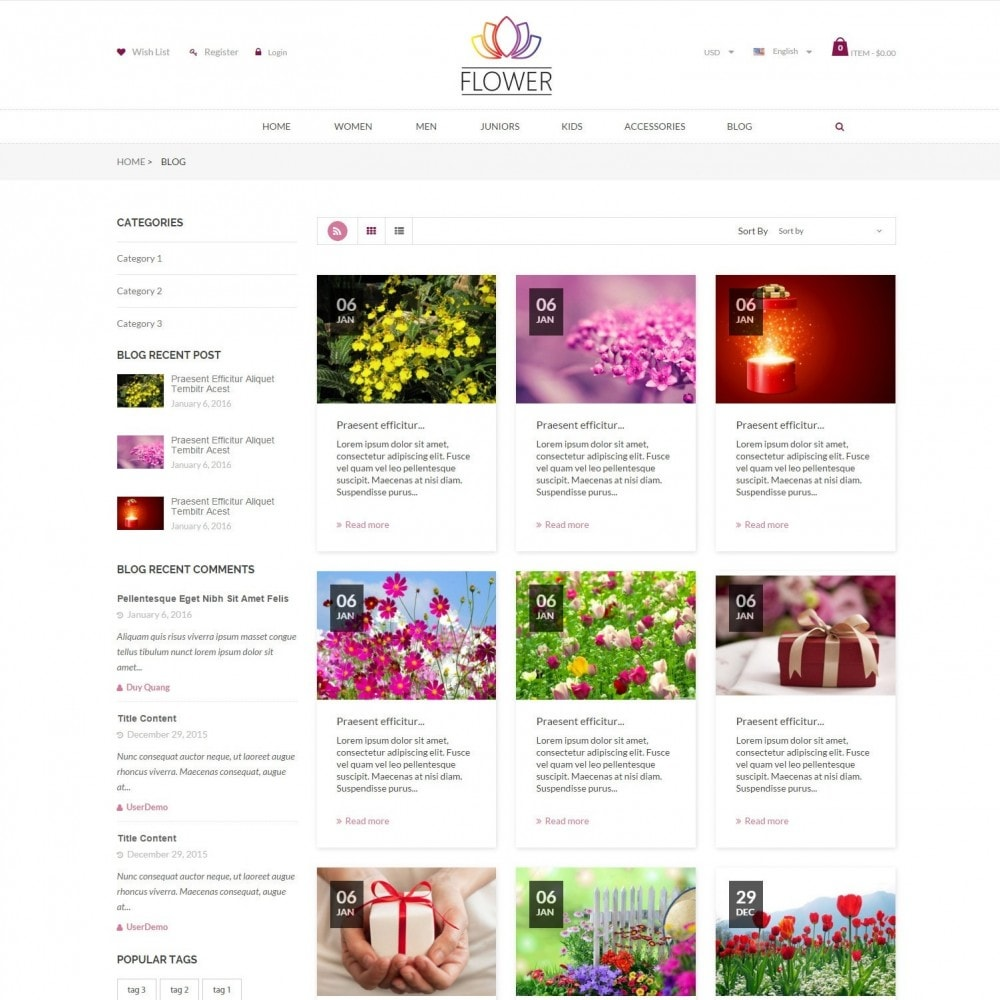 theme - Regalos, Flores y Celebraciones - Celebrations Gift & Flower Responsvie Store - 6