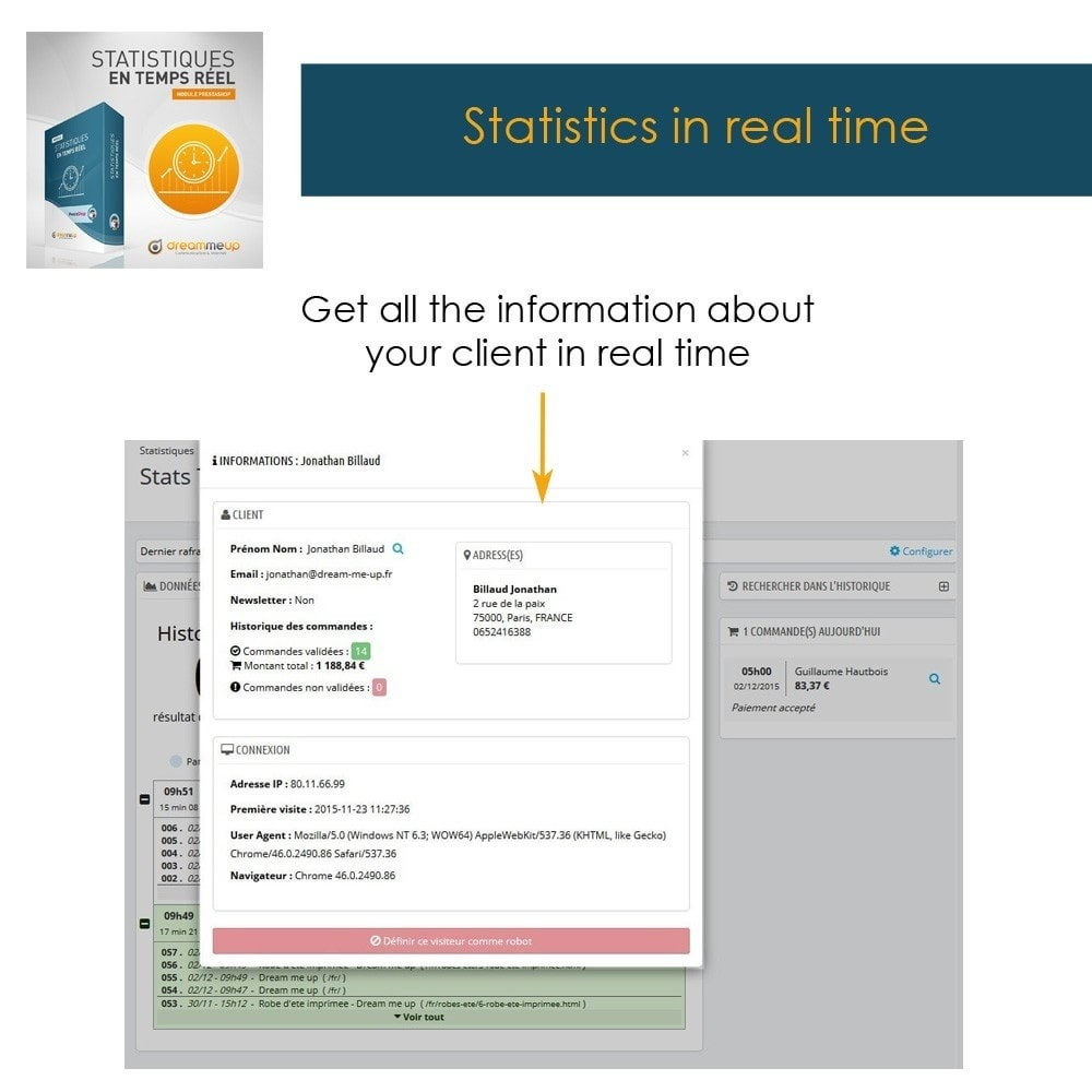 module - Analytics & Statistiche - DMU Real Time Statistics - 8