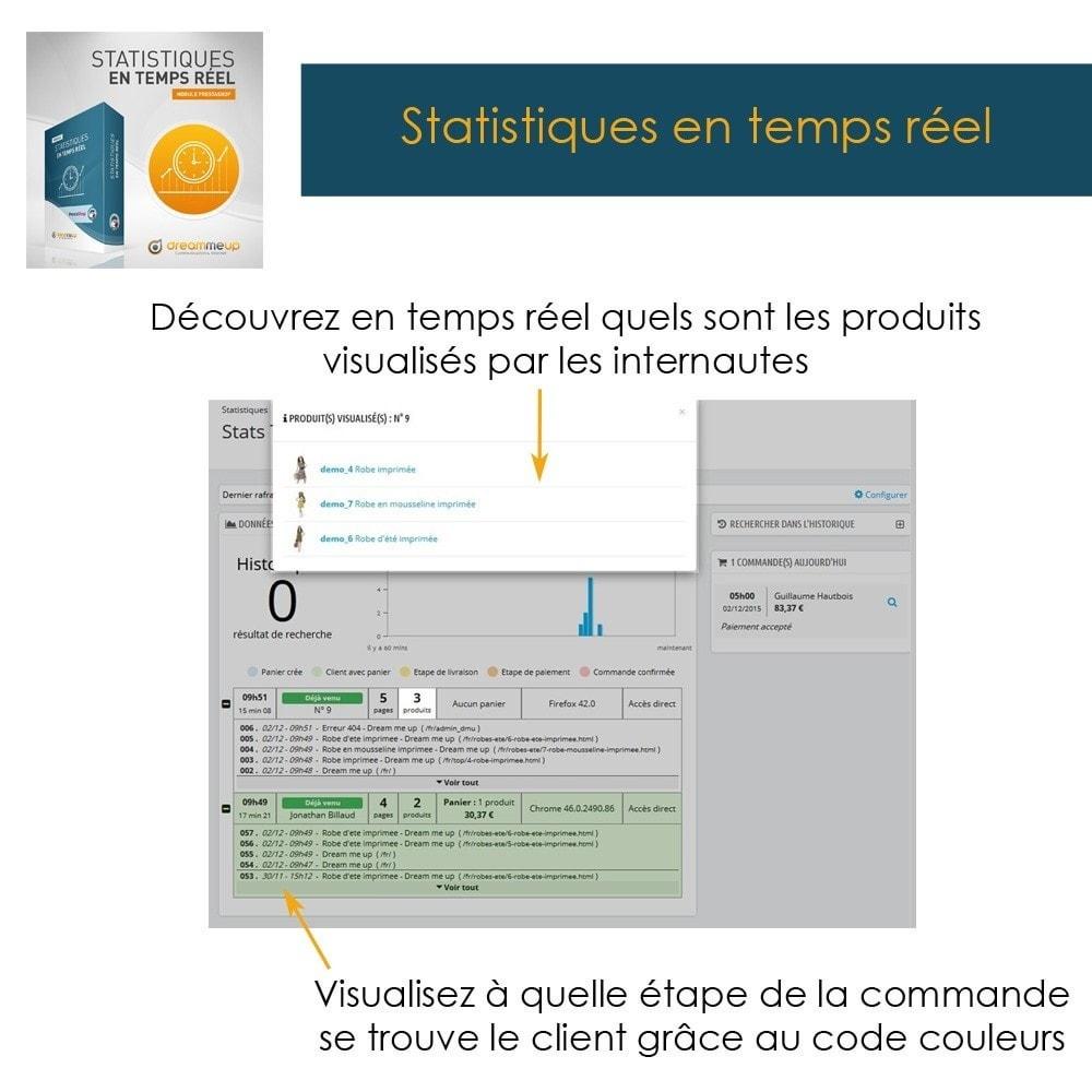 module - Analyses & Statistiques - DMU Statistiques en Temps Réel - 6