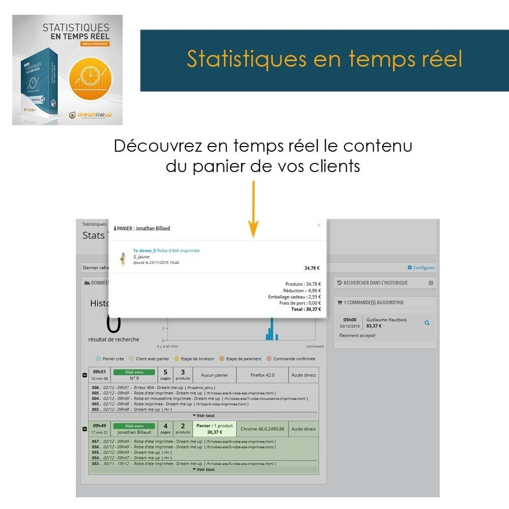 module - Analyses & Statistiques - DMU Statistiques en Temps Réel - 7