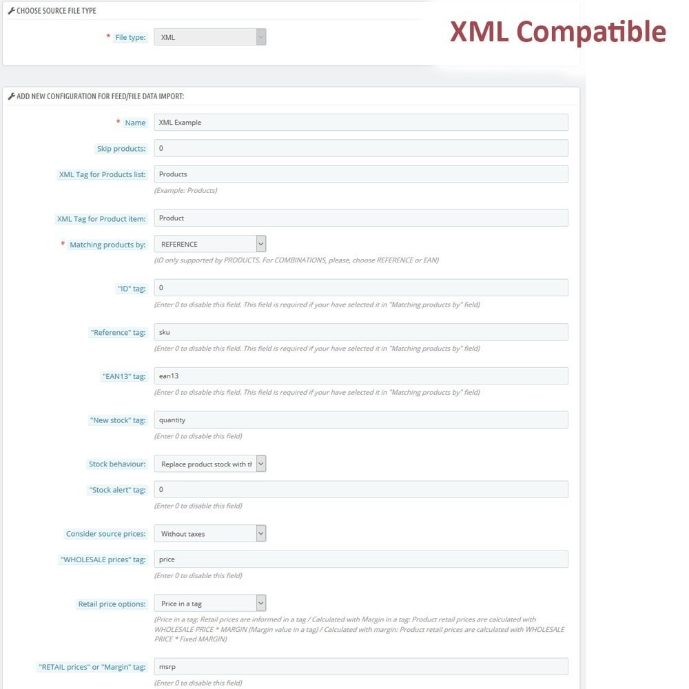 module - Import & Export de données - Massive CSV/XML Updater via URL/FTP cronjobs compatible - 7