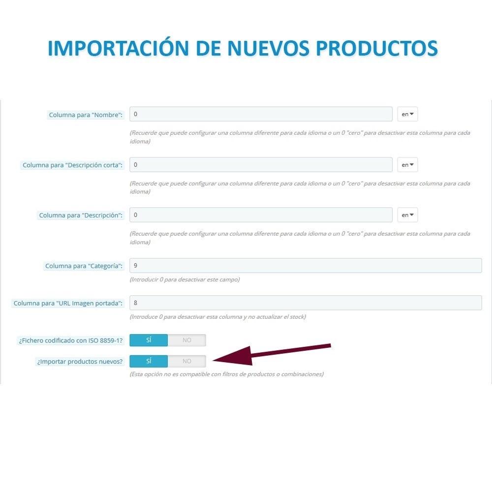 module - Importación y Exportación de datos - Actualizar datos CSV/XML vía URL/FTP cronjob compatible - 6
