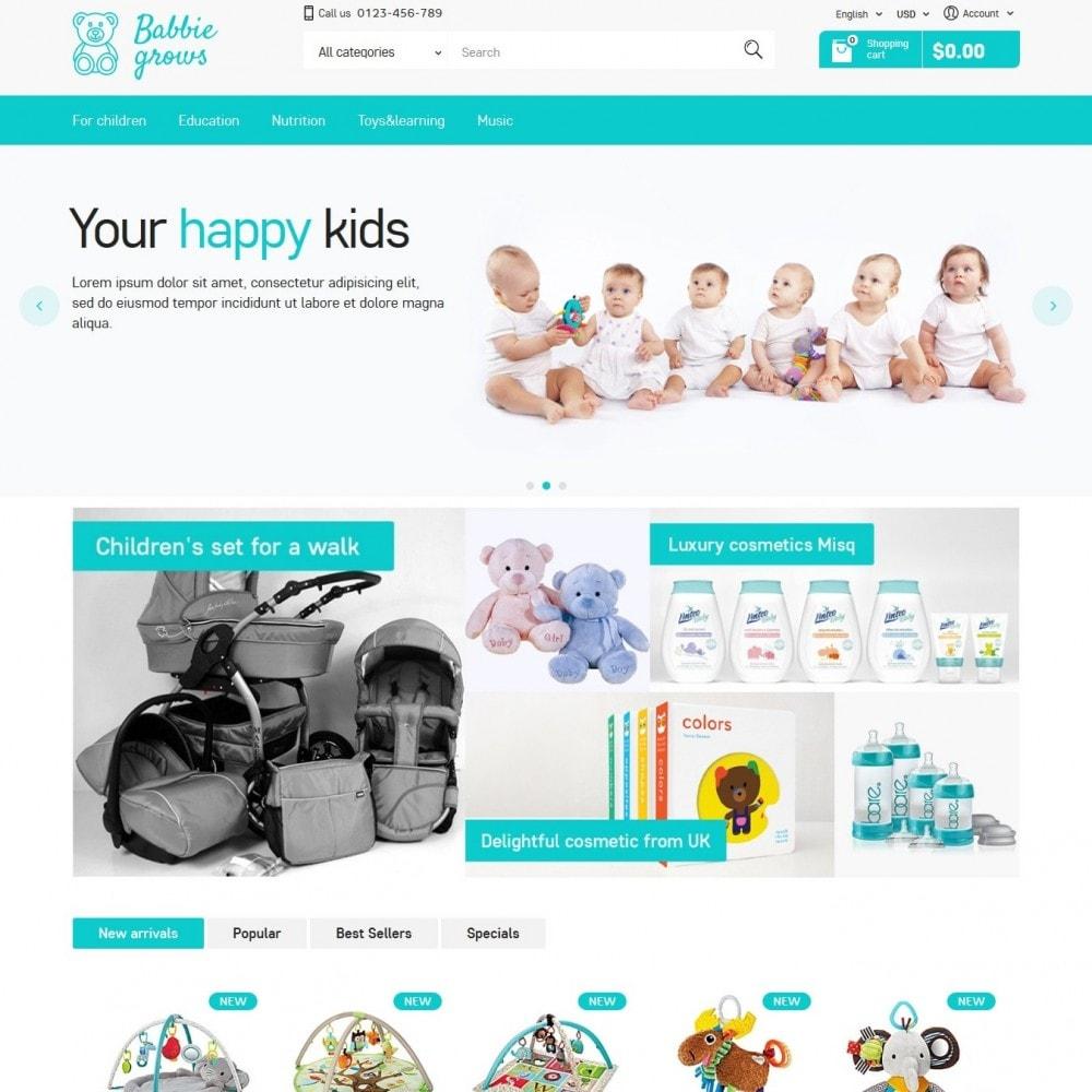 theme - Niños y Juguetes - Baby Grows - 2