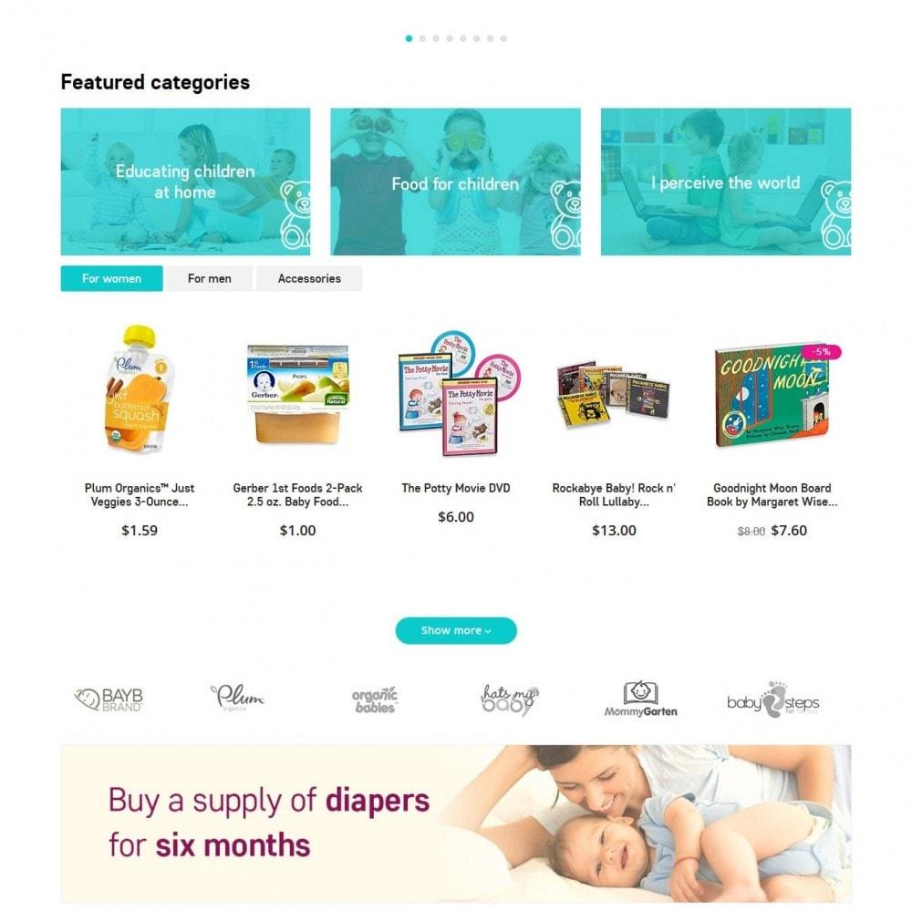 theme - Niños y Juguetes - Baby Grows - 3