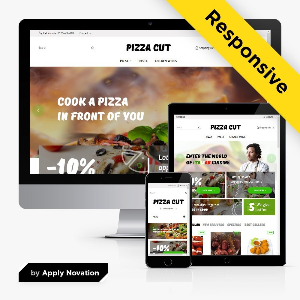 theme - Eten & Restaurant - Pizza Cut - 1