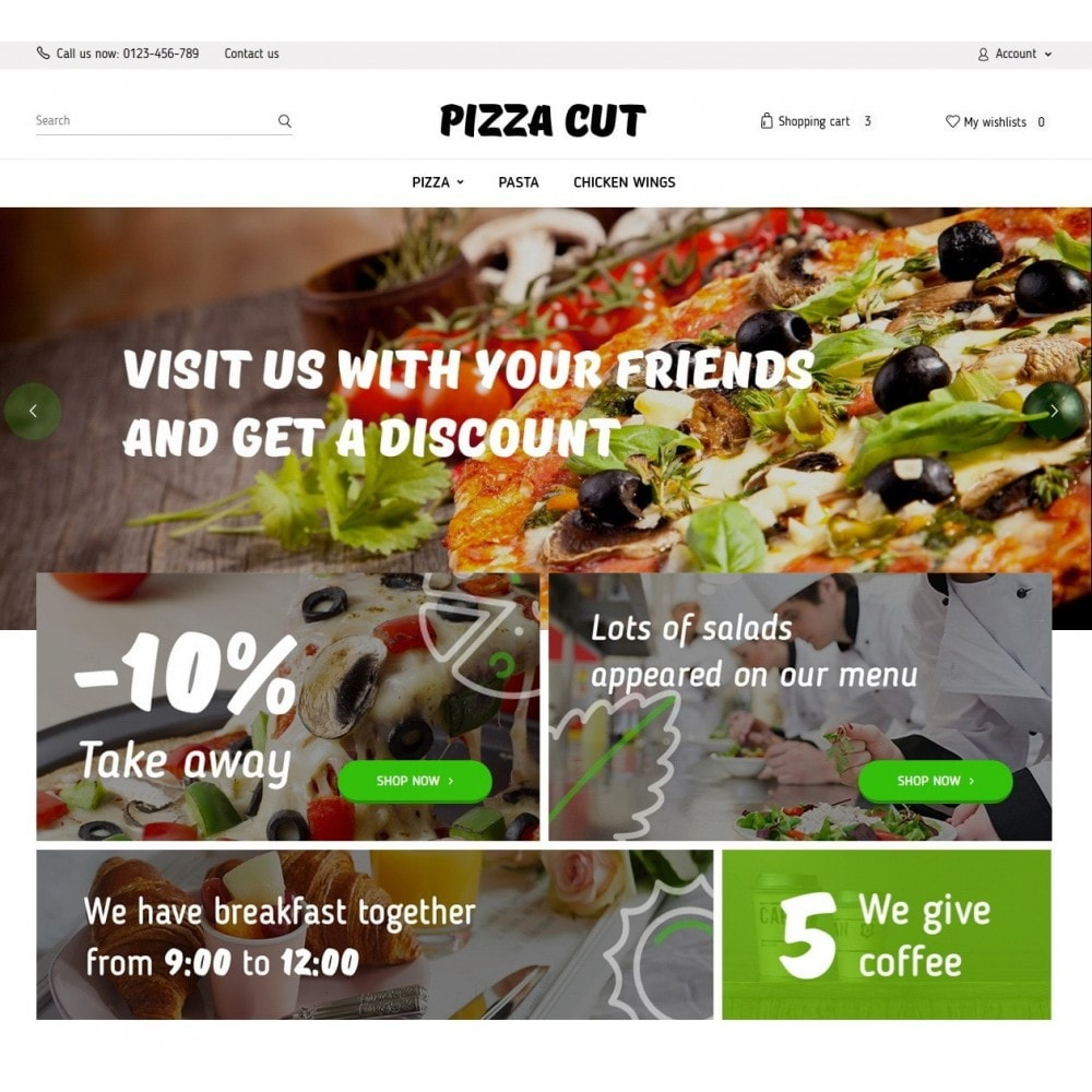 theme - Eten & Restaurant - Pizza Cut - 2