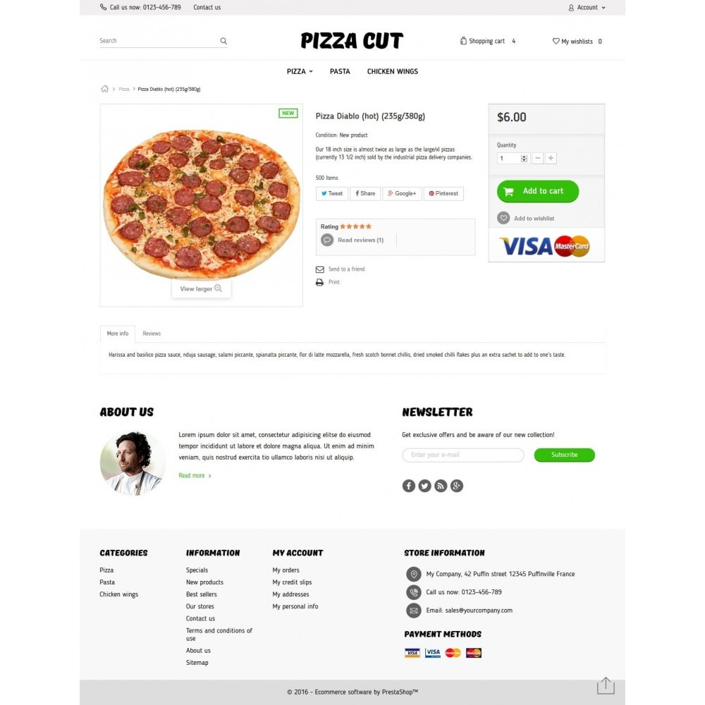 theme - Eten & Restaurant - Pizza Cut - 7
