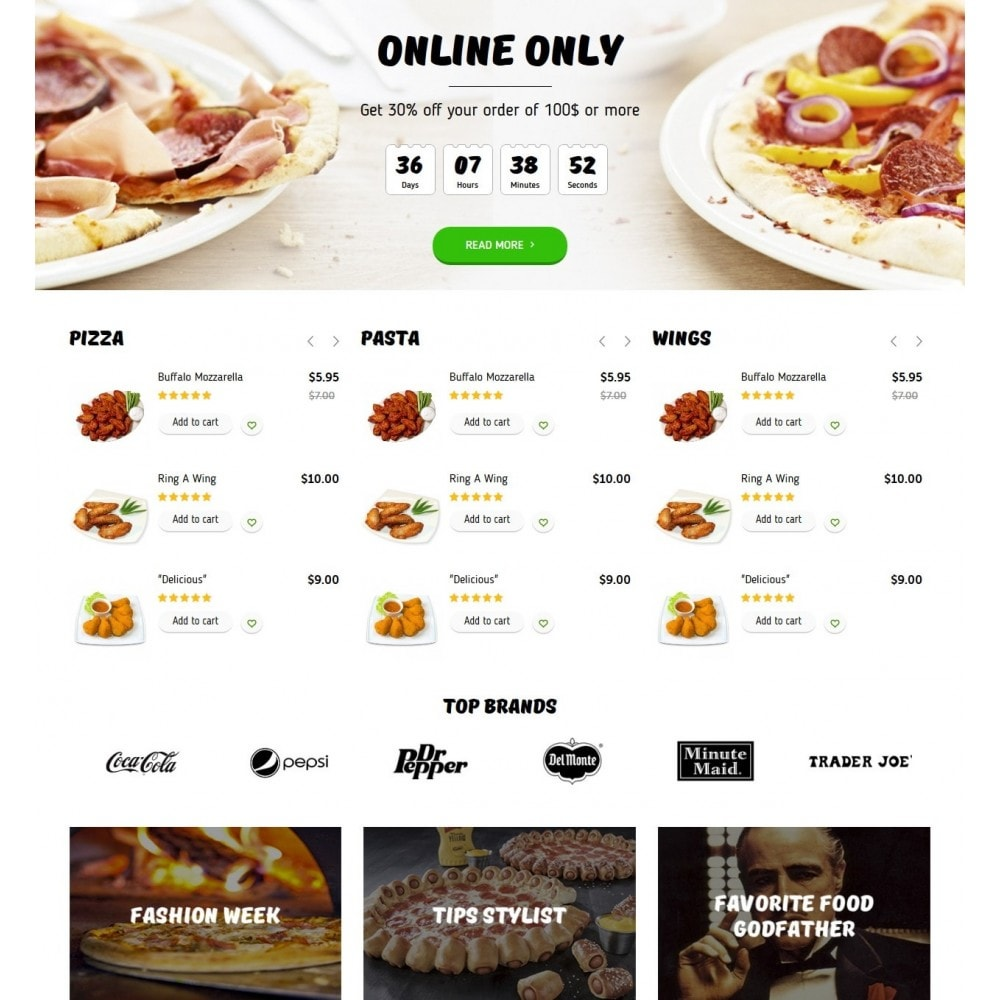 theme - Eten & Restaurant - Pizza Cut - 3
