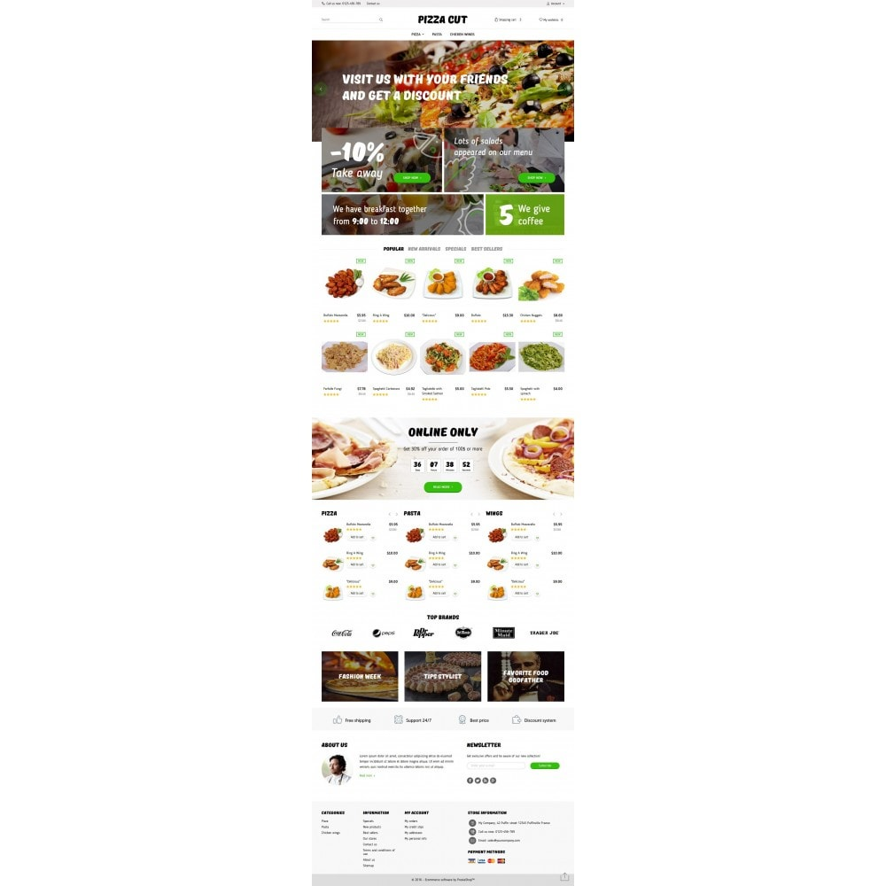 theme - Eten & Restaurant - Pizza Cut - 4