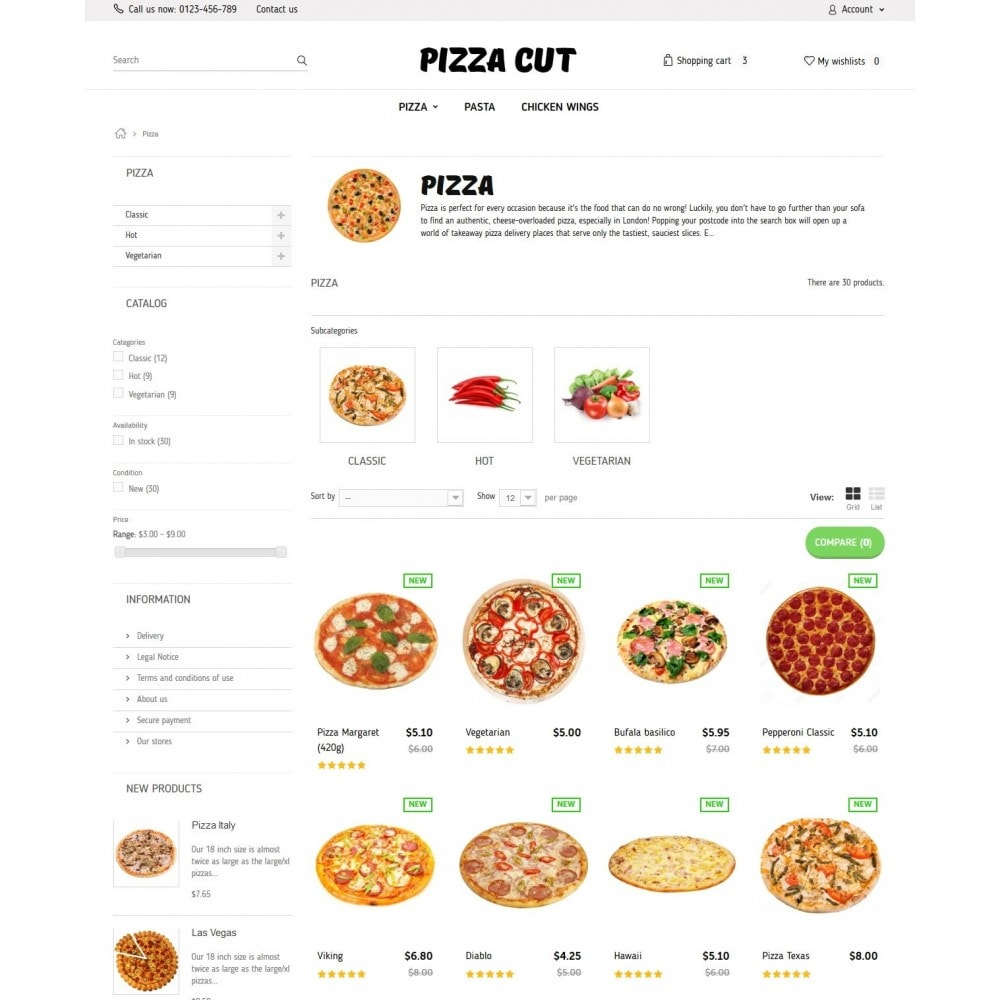 theme - Eten & Restaurant - Pizza Cut - 5