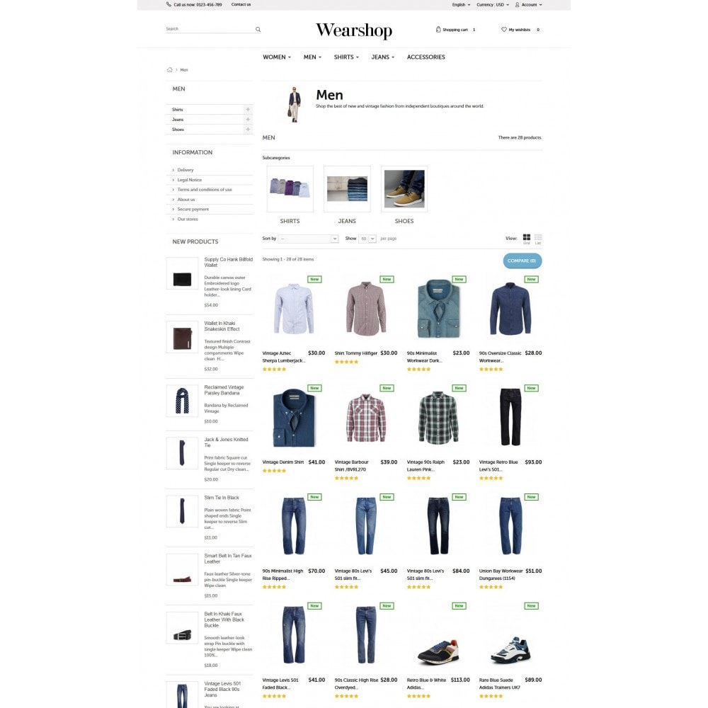 theme - Mode & Chaussures - Wearshop - 5