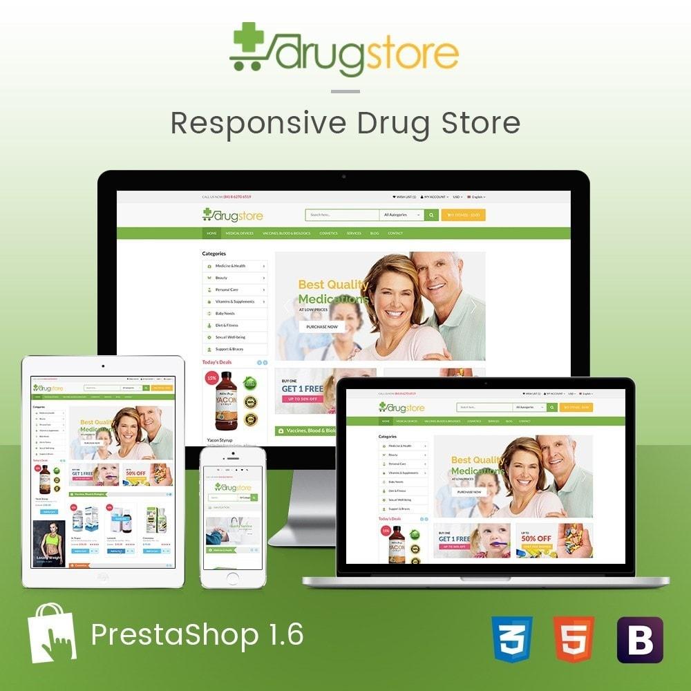 theme - Santé & Beauté - Vitamins, Skin Care, Health - DrugStore Responsive - 1
