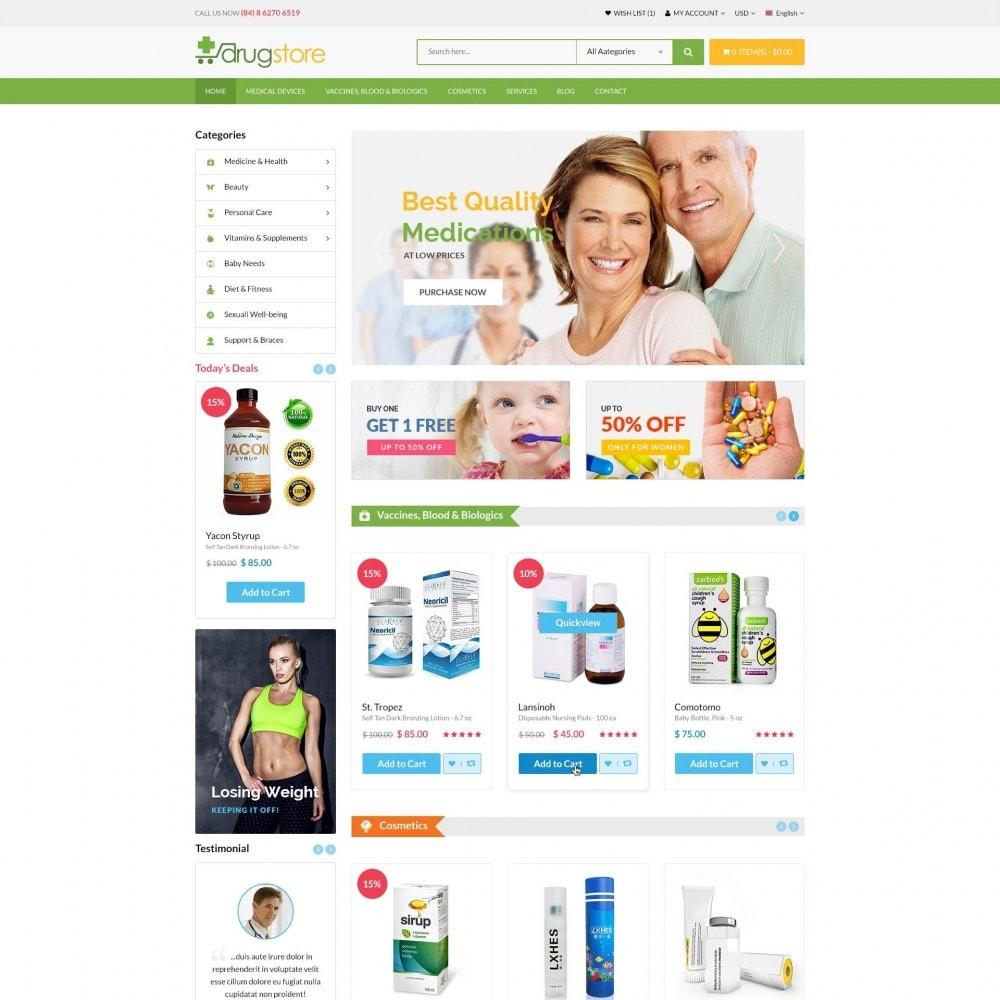 theme - Santé & Beauté - Vitamins, Skin Care, Health - DrugStore Responsive - 2