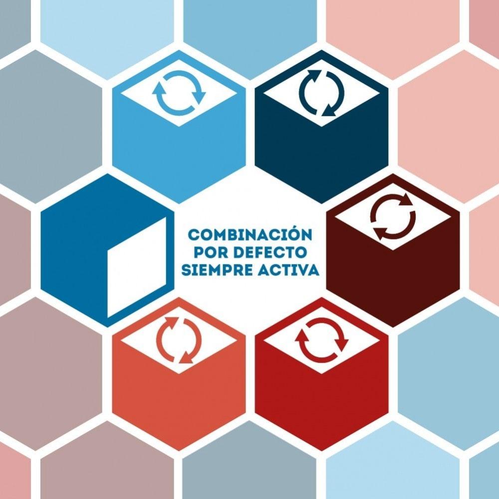module - Combinaciones y Personalización de productos - Combinación por defecto siempre activa - 1