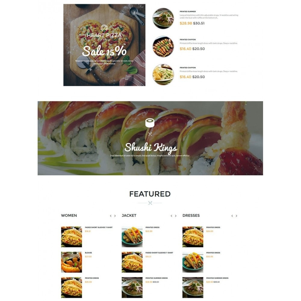 theme - Food & Restaurant - Water Delicieux Food Store - 4