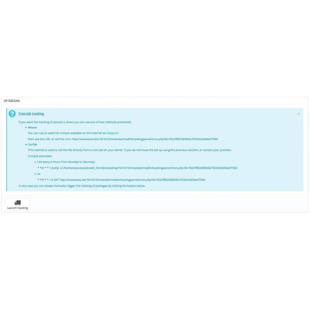 module - Sendungsverfolgung - TNT Express solution to track your parcels - 3