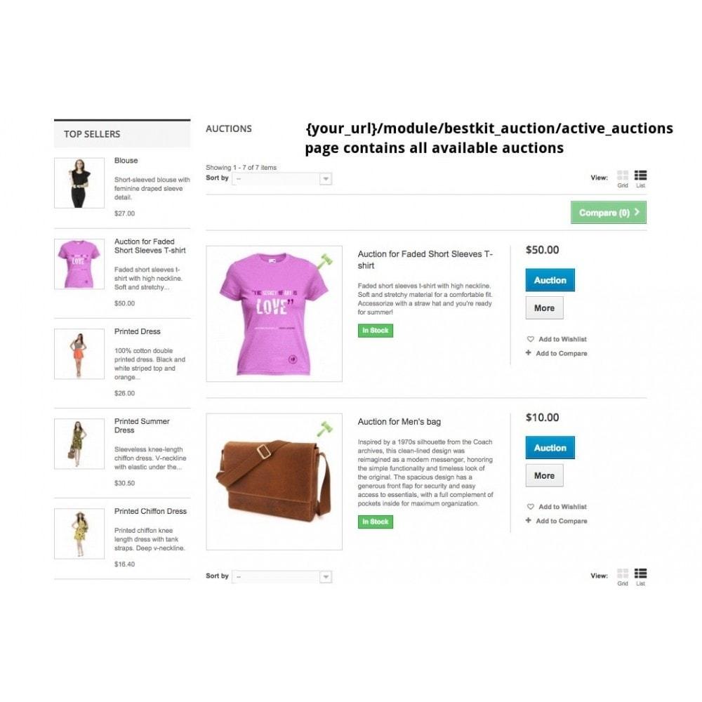module - Создать сайт аукционов - Auction Pro - 8