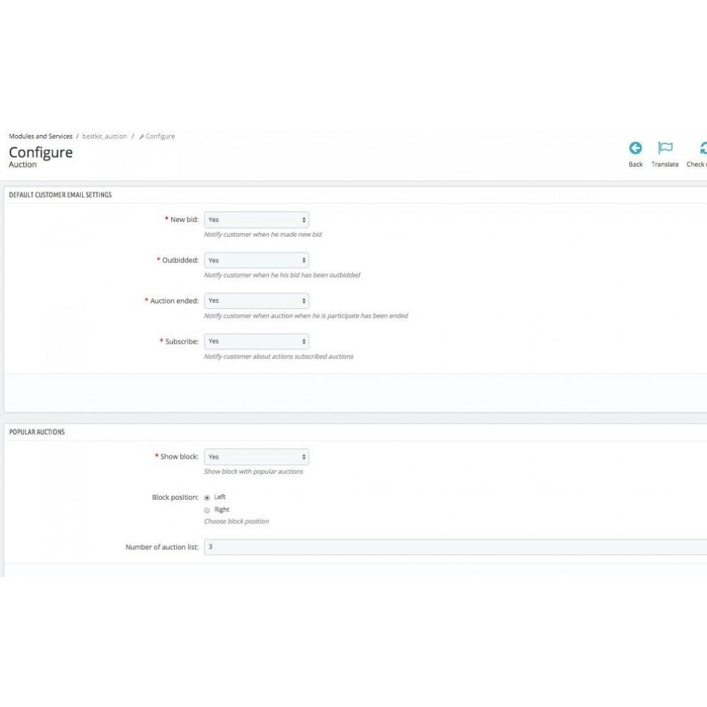 module - Создать сайт аукционов - Auction Pro - 10
