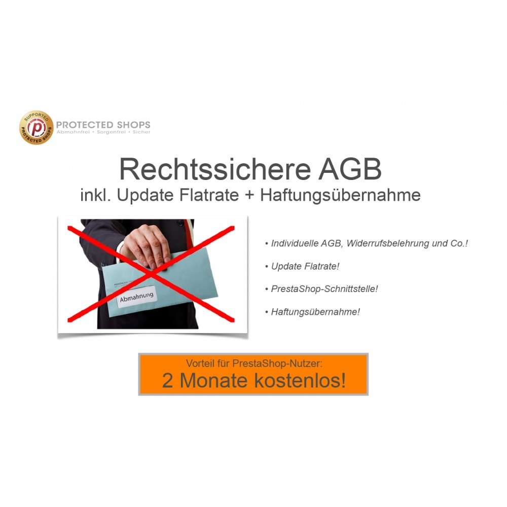 module - Rechtssicherheit - Protected Shops AGB Connect® Module - 3