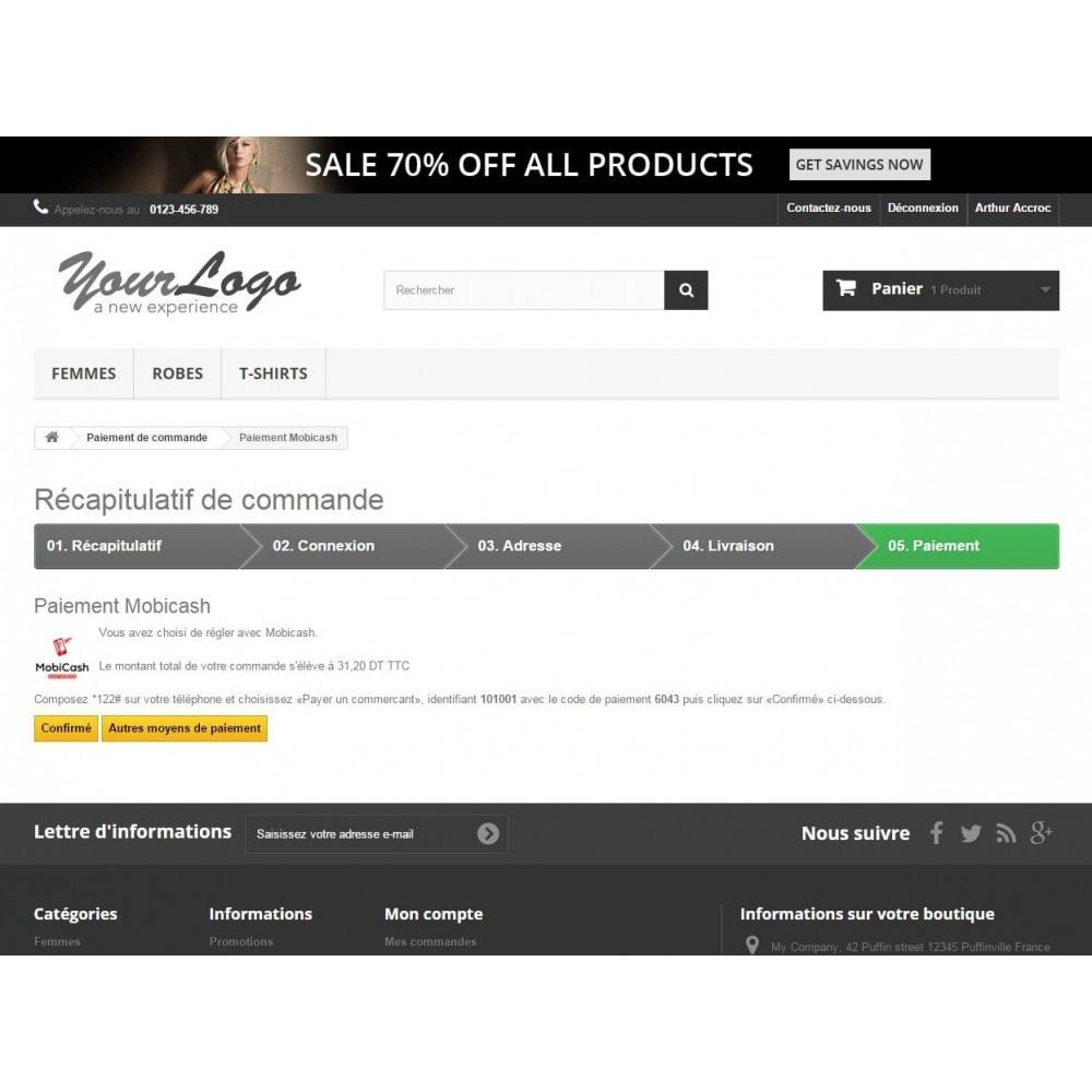 module - Autres moyens de paiement - Paiement Mobicash - 2