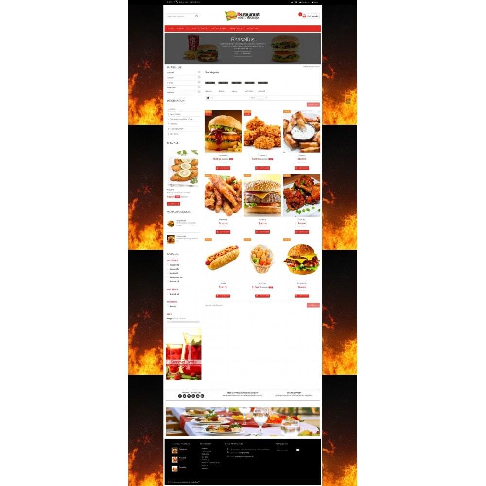 theme - Gastronomía y Restauración - Pizza & Restaurant - 7