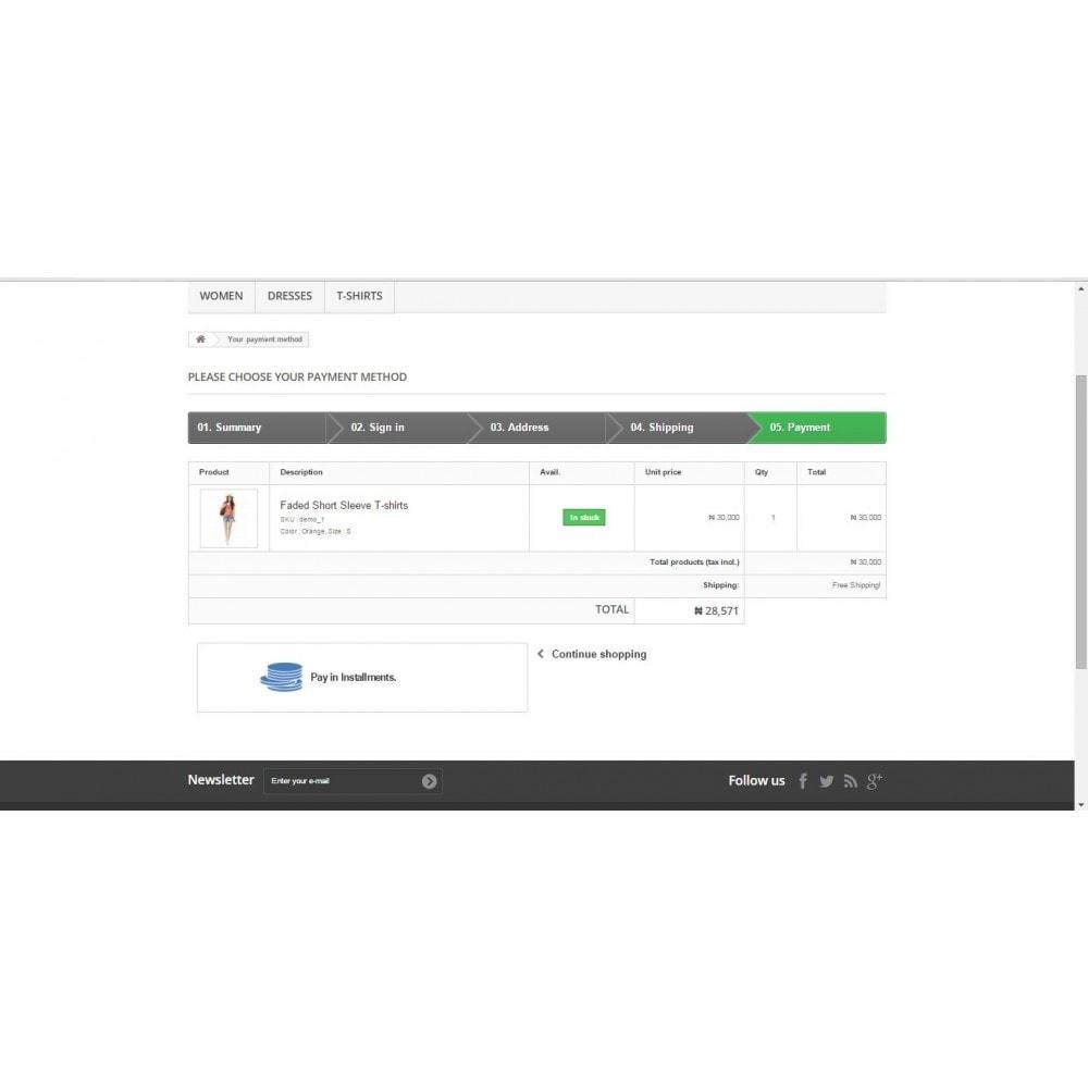 module - Otros métodos de pago - Pay in Installment - 3