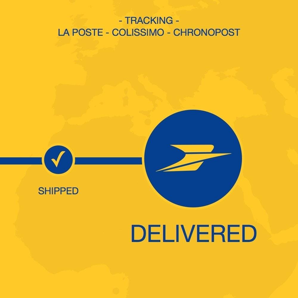 module - Rastreamento da entrega - La Poste, Colissimo & Chronopost tracking - 1