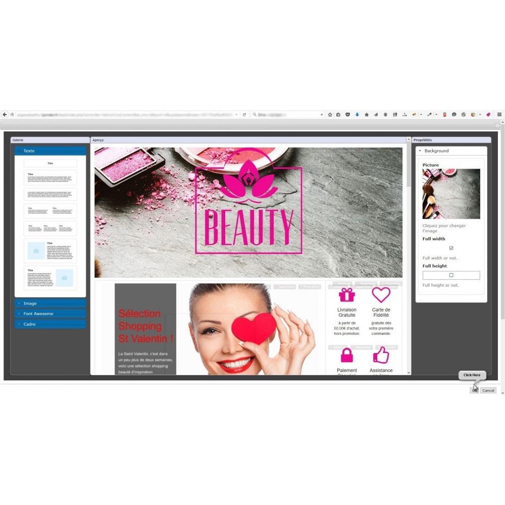 module - Personalizzazione pagine - Responsive Page Web Editor - 2