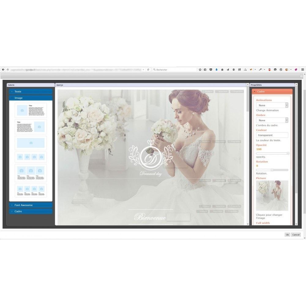 module - Personalizzazione pagine - Responsive Page Web Editor - 7