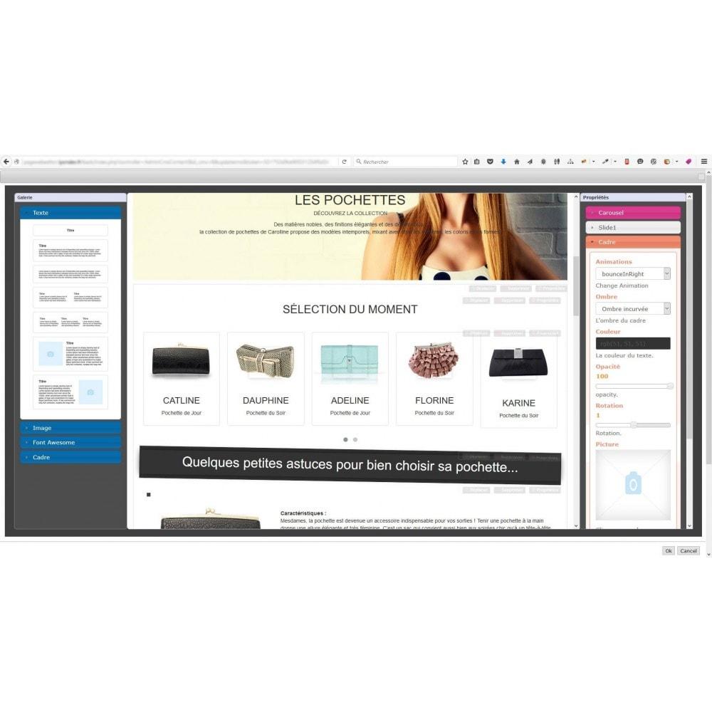 module - Personalizzazione pagine - Responsive Page Web Editor - 4