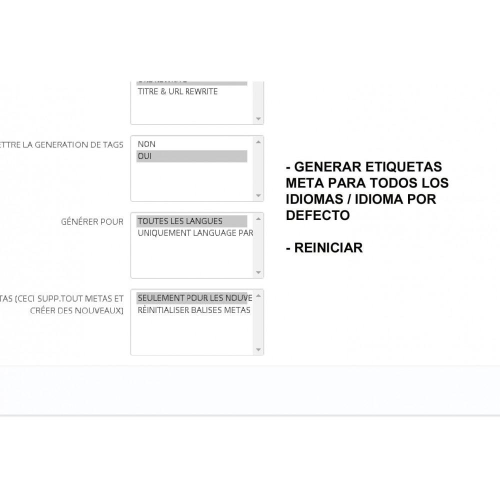 module - SEO (Posicionamiento en buscadores) - METAS TAGS AUTO GENERATOR (PRO) - 3