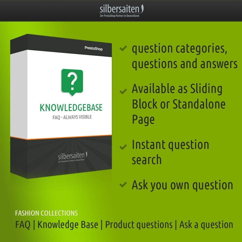 module - FAQ (Perguntas frequentes) - Knowledgebase - FAQ - always visible - 1