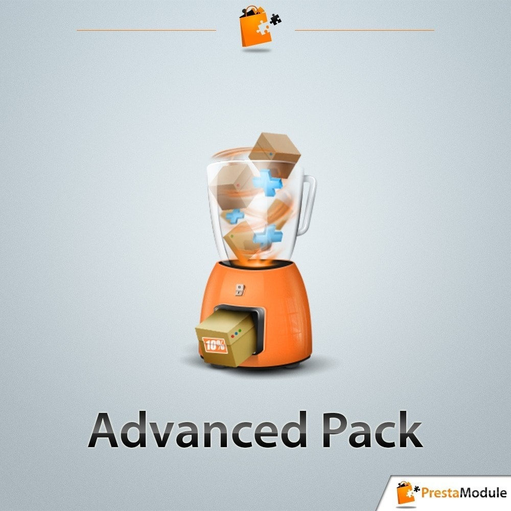 pack - Cross-Selling & Produktbundles - Pack Transformation: 3 modules to increase your sales - 2