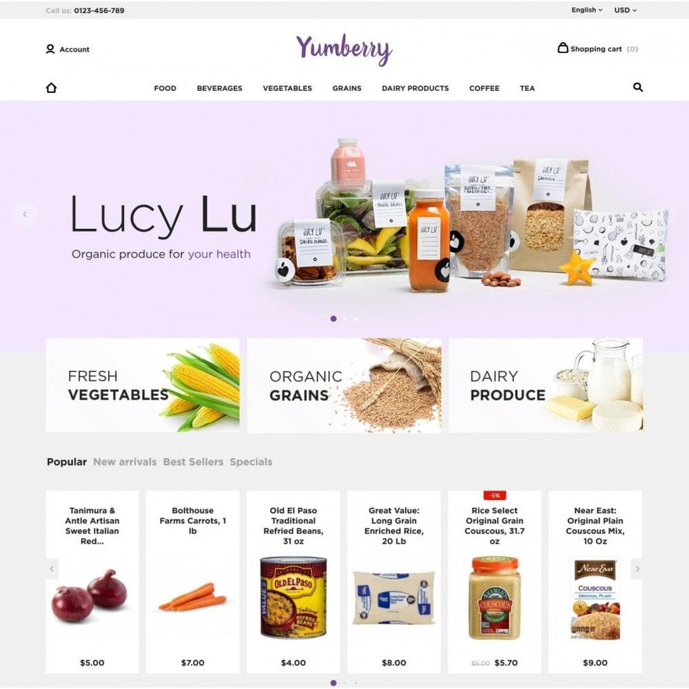 theme - Продовольствие и рестораны - Yumberry Food Market - 2