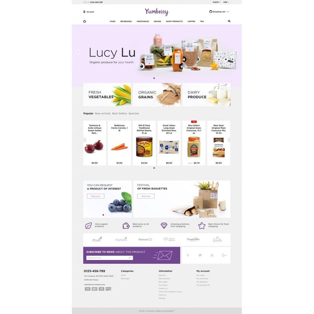 theme - Продовольствие и рестораны - Yumberry Food Market - 4