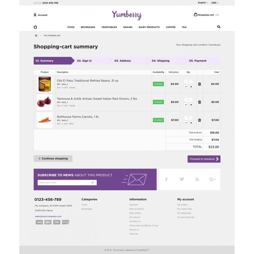 theme - Продовольствие и рестораны - Yumberry Food Market - 10