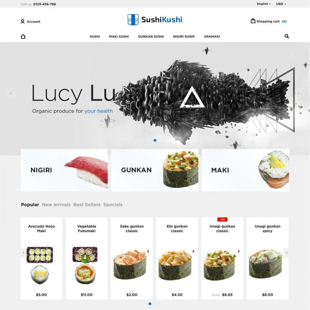 theme - Żywność & Restauracje - Sushi Kushi - 2