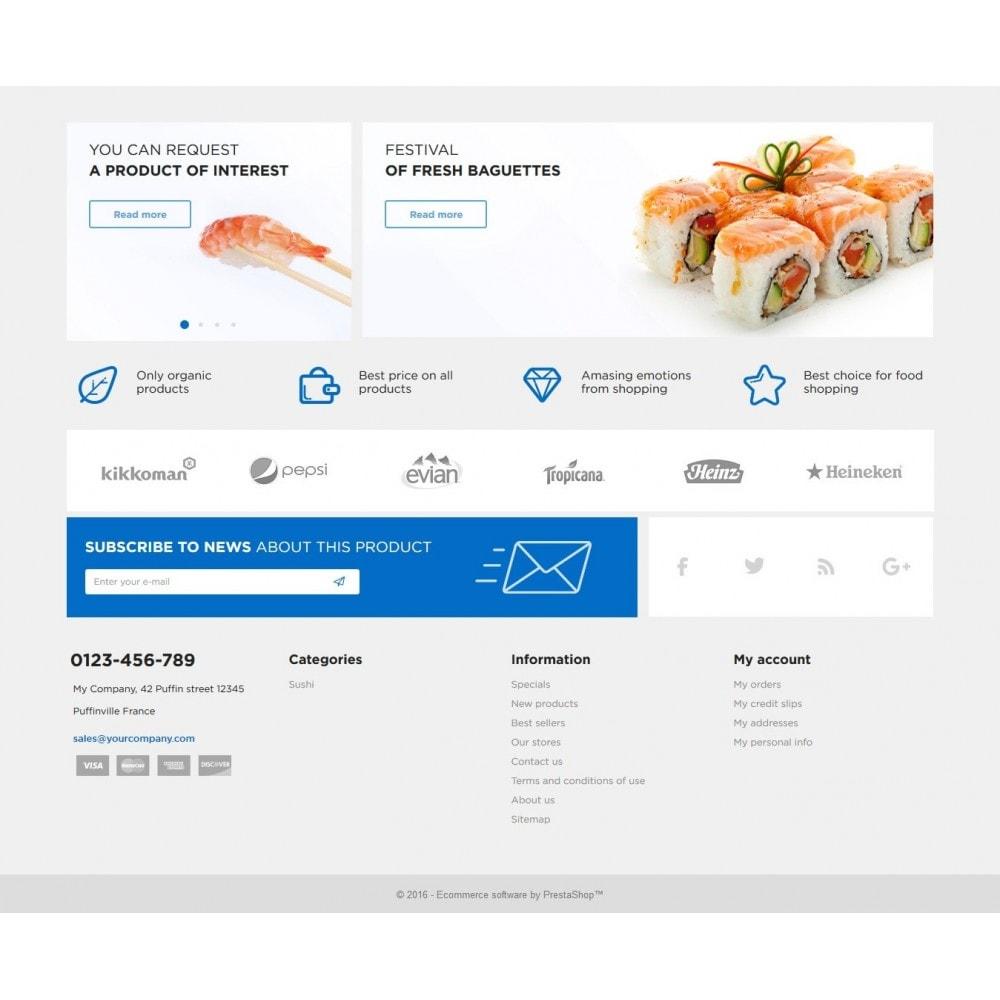 theme - Żywność & Restauracje - Sushi Kushi - 3
