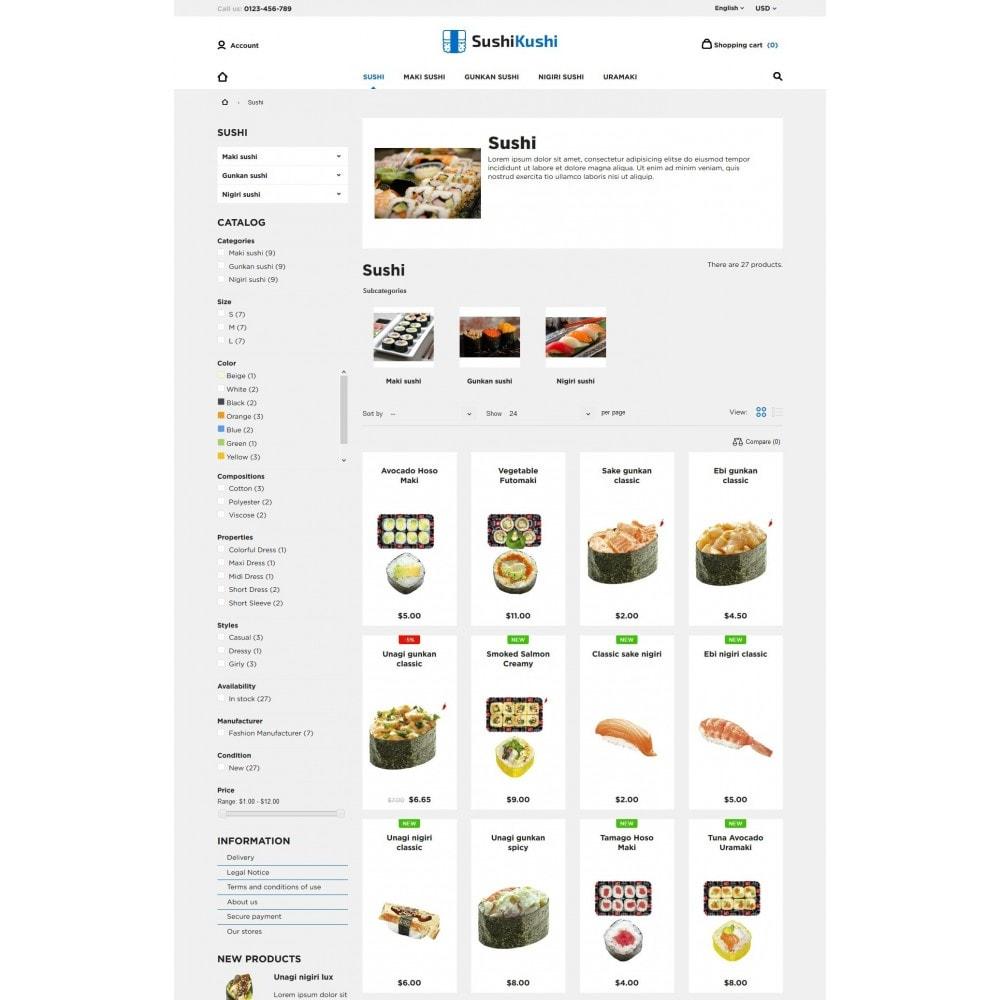 theme - Żywność & Restauracje - Sushi Kushi - 8
